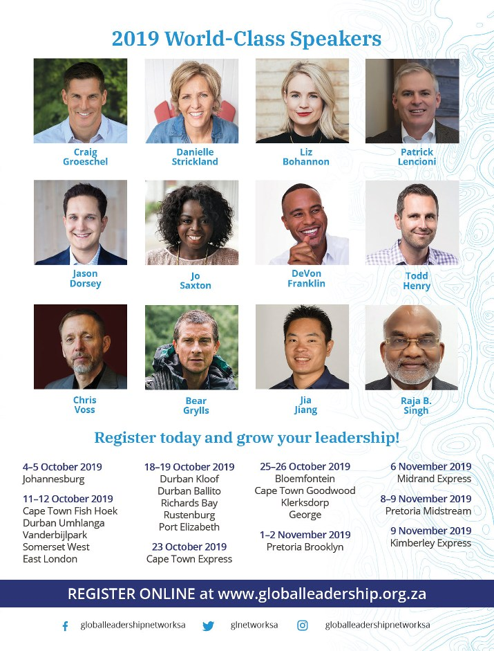 2019 World-Class Speakers: