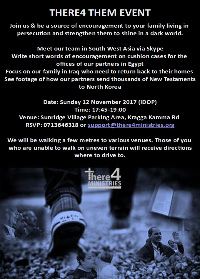 There4 Them Event - 12 November 2017