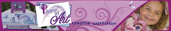 A Peace of Art creative workshops
