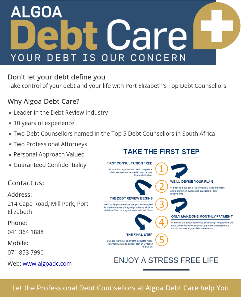 ALGOA Debt Care