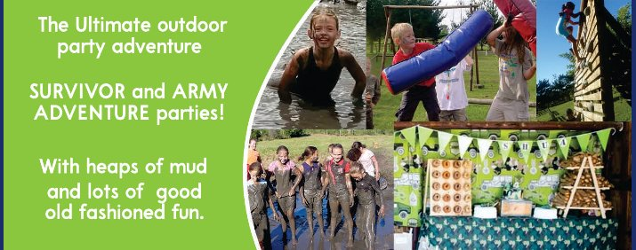 The Ultimate outdoor party adventure