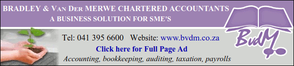 Bradley & Van Der Merwe Chartered Accountants
