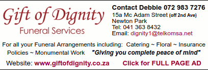 Contact Debbie on 072 983-7276