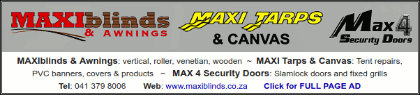MAXIblinds & Awnings: vertical, roller, venetian, wooden