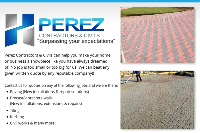 PEREZ CONTRACTORS & CIVILS